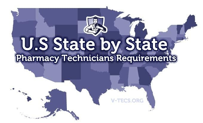 state pharmacy tech requirements